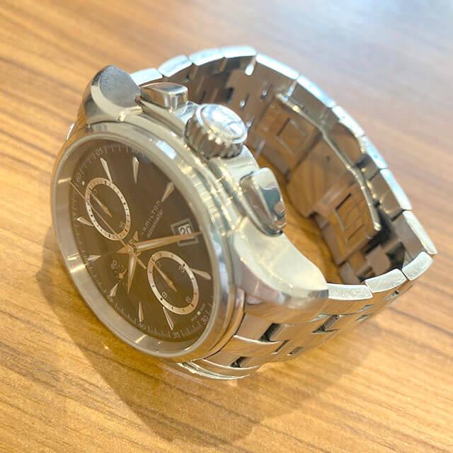 大東のお客様からハミルトンの腕時計【ジャズマスター】を買取_03