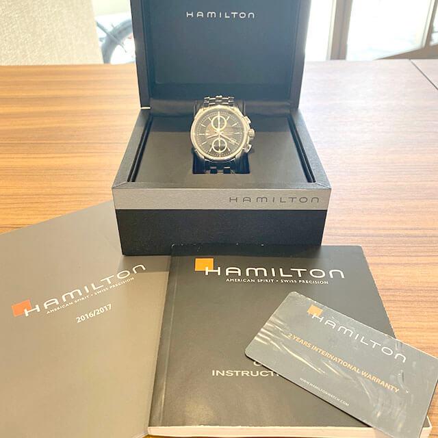 大東のお客様からハミルトンの腕時計【ジャズマスター】を買取_04