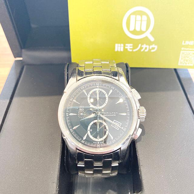 大東のお客様からハミルトンの腕時計【ジャズマスター】を買取_01