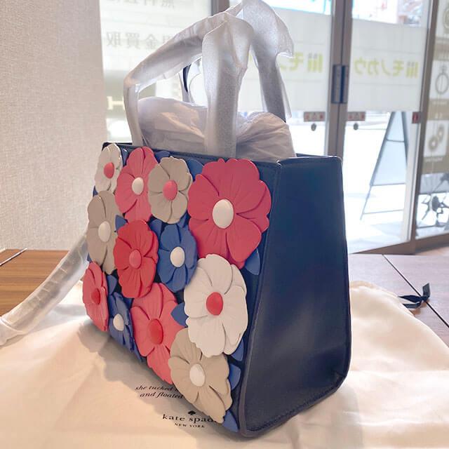 大阪のお客様からケイトスペードの2wayバッグを買取_02