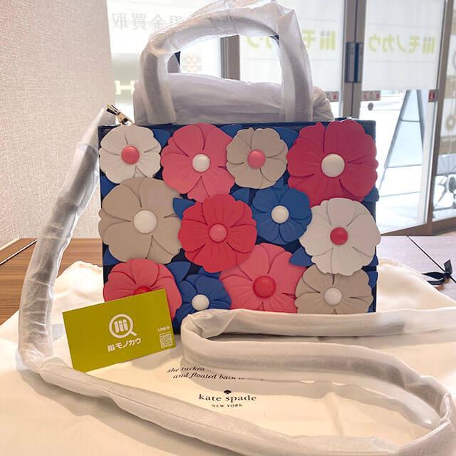 大阪のお客様からケイトスペードの2wayバッグを買取_01