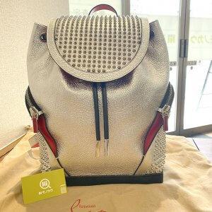 奈良のお客様からルブタンのバックパック【エクスプローラーファンク】を買取