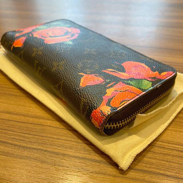 鶴見のお客様からヴィトンの【モノグラム・ローズ】の長財布を買取_02
