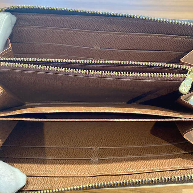 鶴見のお客様からヴィトンの【モノグラム・ローズ】の長財布を買取_03