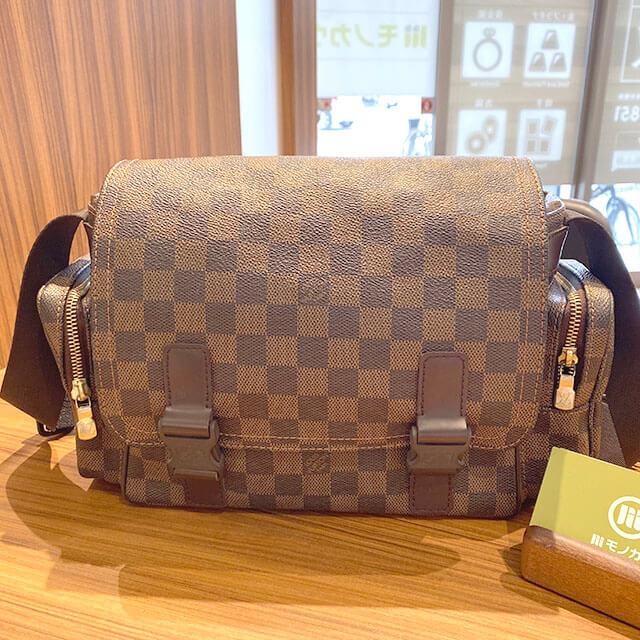 鶴見のお客様からヴィトンのバッグ【リポーター・メルヴィール】を買取_01