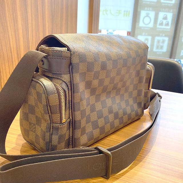 鶴見のお客様からヴィトンのバッグ【リポーター・メルヴィール】を買取_02
