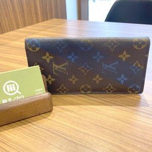 流山のお客様からヴィトンの長財布【ポルトフォイユ・ブラザ Vシグネチャー】を買取