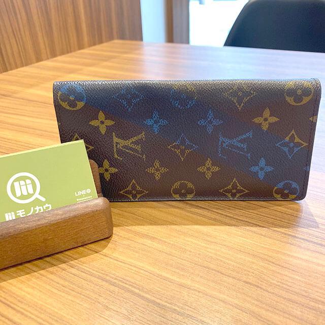 流山のお客様からヴィトンの長財布【ポルトフォイユ・ブラザ Vシグネチャー】を買取_01