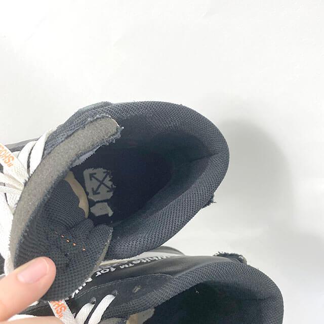 流山のお客様からナイキ×オフホワイトのスニーカー【ブレーザーミッド】を買取_04