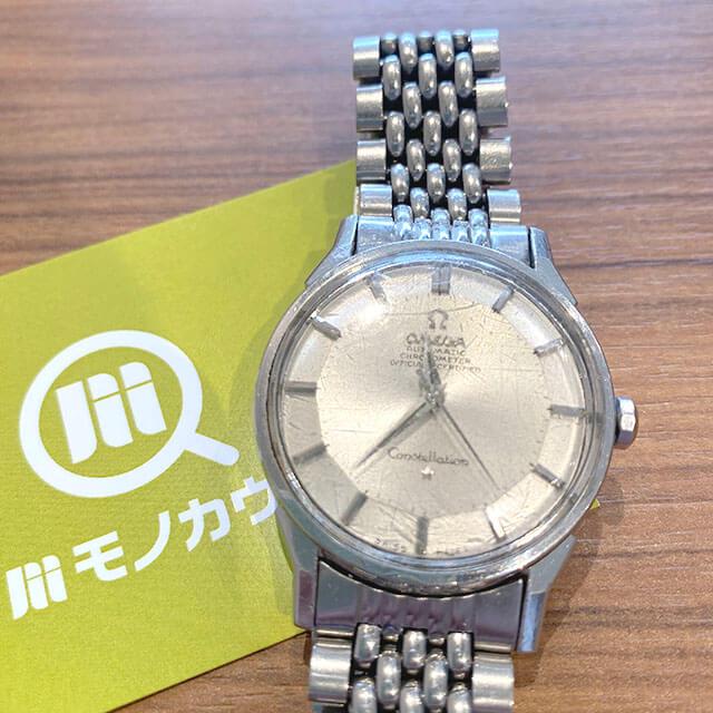 モノカウ緑橋店にてオメガの腕時計【コンステレーション】を買取_01