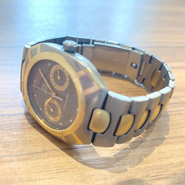 モノカウ緑橋店にてオメガの腕時計【シーマスター】を買取_03