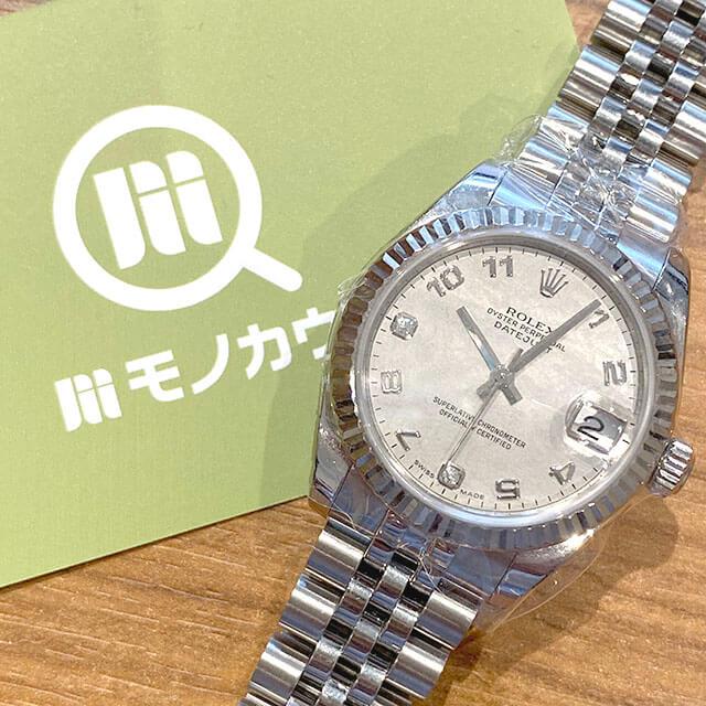 東淀川のお客様からロレックスの腕時計【デイトジャスト】を買取_01