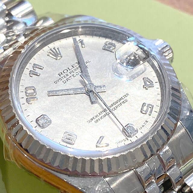 東淀川のお客様からロレックスの腕時計【デイトジャスト】を買取_04