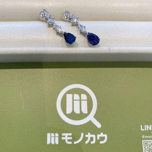 モノカウ心斎橋店にて夙川のお客様からサファイアのピアスを買取