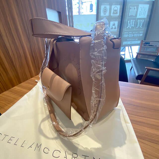 大阪のお客様からステラマッカートニーの【ステラ ロゴ 2way バッグ】を買取_02