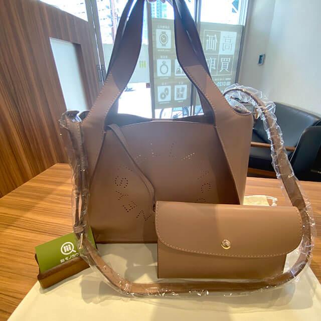 大阪のお客様からステラマッカートニーの【ステラ ロゴ 2way バッグ】を買取_01