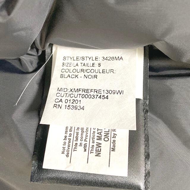 モノカウ心斎橋店にて西宮のお客様からカナダグースのダウンジャケット【CHATEAU(シャトー)】を買取_03