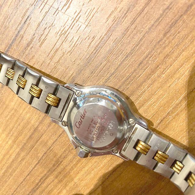 モノカウ玉造店にてカルティエの腕時計【サントス オクタゴンSM】を買取_04