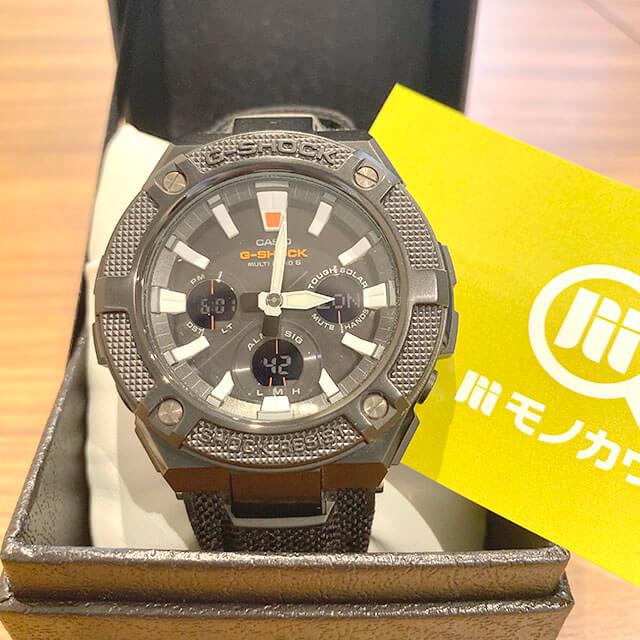 モノカウ北見営業所にてカシオの腕時計【G-SHOCK(GST-W130BC)】を買取_01