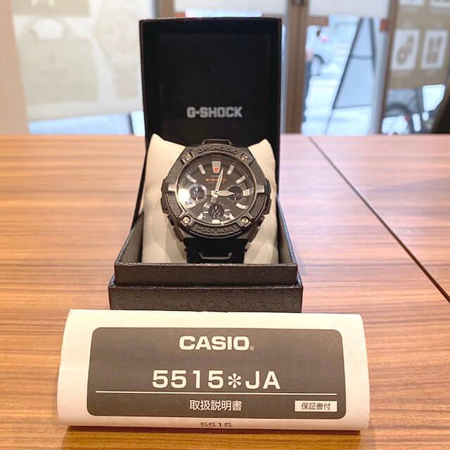 モノカウ北見営業所にてカシオの腕時計【G-SHOCK(GST-W130BC)】を買取_04