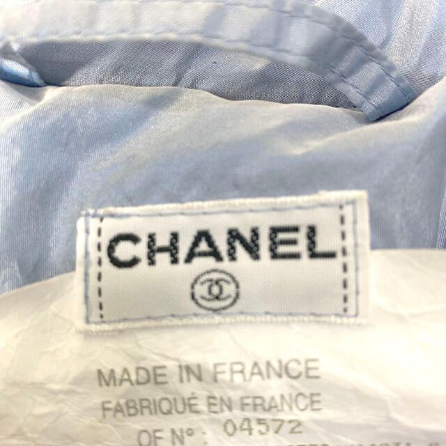 福島のお客様からシャネルのジップアップジャケットを買取_04