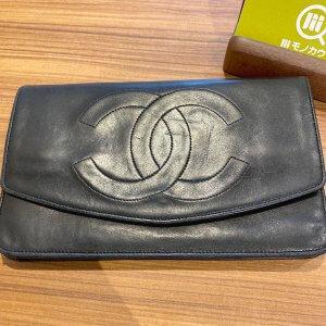 モノカウ石岡営業所にて笠間のお客様からシャネルのクラッチバッグを買取
