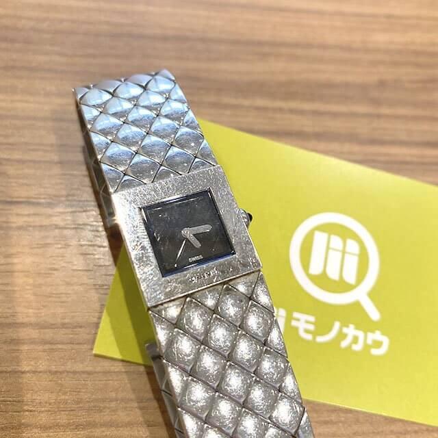 モノカウ緑橋店にてシャネルの腕時計【マトラッセ】を買取_01