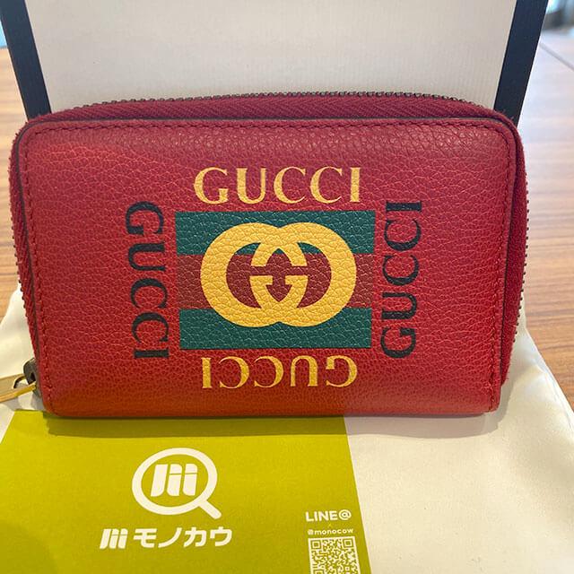 座間のお客様からグッチの【GGプリント】のコインケースを買取_01