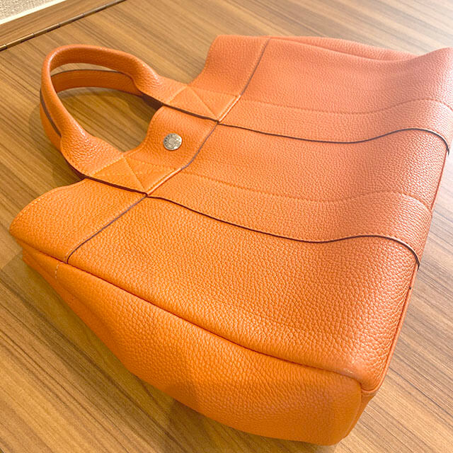 福島のお客様からのエルメスのトートバッグ【フールトゥPM】(2001年銀座限定)を買取_02