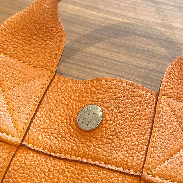 福島のお客様からのエルメスのトートバッグ【フールトゥPM】(2001年銀座限定)を買取_03