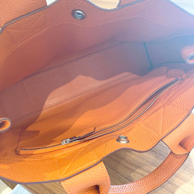 福島のお客様からのエルメスのトートバッグ【フールトゥPM】(2001年銀座限定)を買取_04