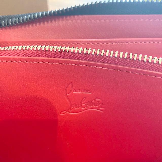 東住吉のお客様からルブタンの長財布【パネトーネ】を買取_04