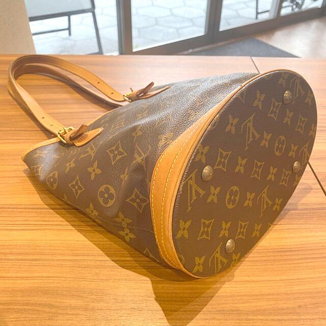 荻窪のお客様から宅配買取にてヴィトンのバケツ型バッグ【バケットPM】を買取_02