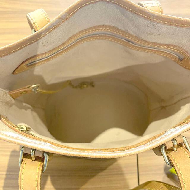荻窪のお客様から宅配買取にてヴィトンのバケツ型バッグ【バケットPM】を買取_03
