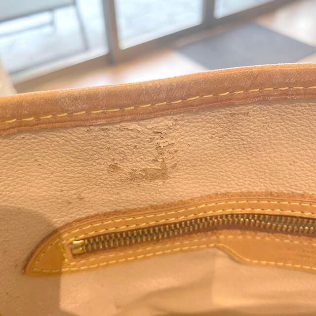 荻窪のお客様から宅配買取にてヴィトンのバケツ型バッグ【バケットPM】を買取_04