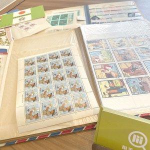 松屋町のお客様から切手の山を買取