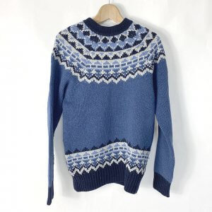 鶴橋のお客様からモンクレールのセーターを買取
