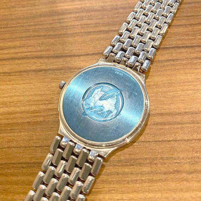 天王寺のお客様からオメガの金無垢の腕時計【デビル】を買取_02