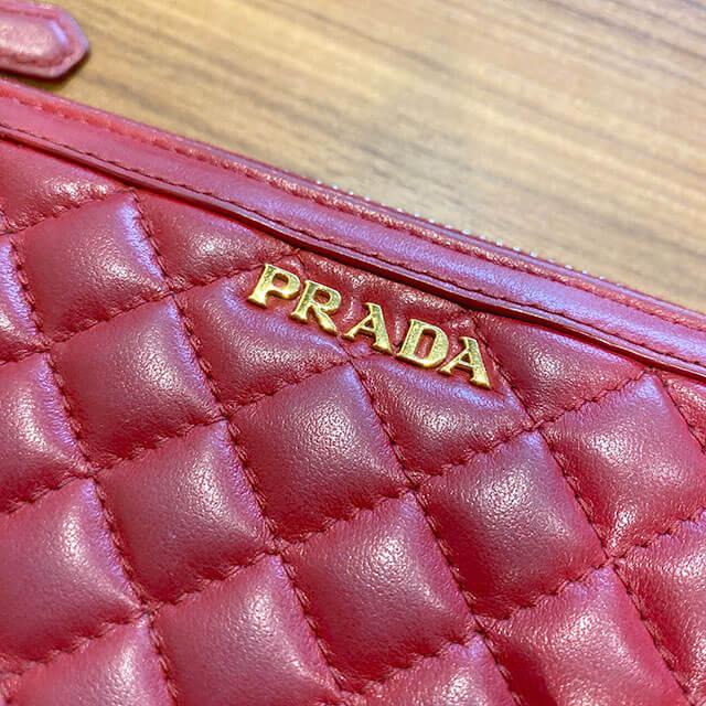 モノカウ石岡営業にて笠間のお客様からプラダの長財布を買取_03