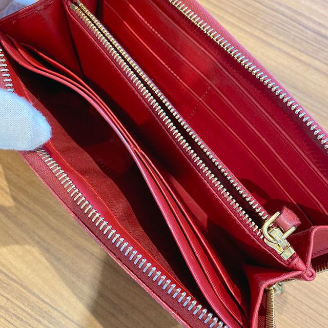 モノカウ石岡営業にて笠間のお客様からプラダの長財布を買取_04