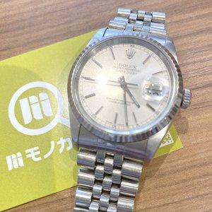 モノカウ心斎橋店にて南森町のお客様からロレックスの腕時計【デイトジャスト】を買取