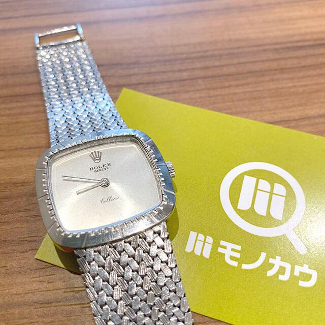 モノカウ枚方営業所にてロレックスの腕時計【チェリーニ】を買取_01