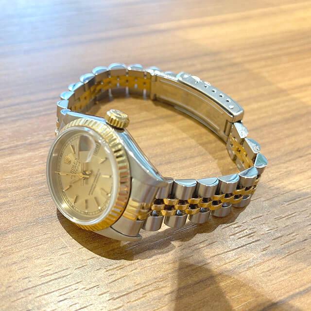 モノカウ緑橋店にてロレックスの腕時計【デイトジャスト】を買取_03