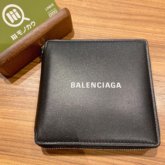 モノカウ緑橋店にて関目高殿のお客様からバレンシアガのラウンドファスナーの二つ折り財布を買取_01