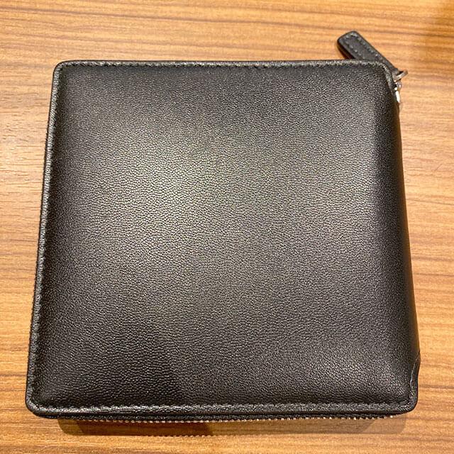 モノカウ緑橋店にて関目高殿のお客様からバレンシアガのラウンドファスナーの二つ折り財布を買取_02