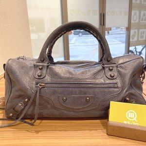 浅草のお客様から宅配買取にてバレンシアガの2wayバッグ【ザ・ツィギー】を買取