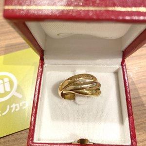 船橋のお客様から宅配買取にてカルティエの指輪【トリニティ リング】を買取