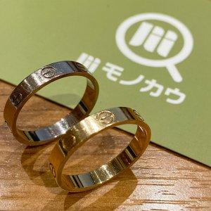 モノカウ玉造店にて住吉のお客様からカルティエの指輪【ラブリング】を買取