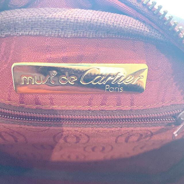 青森のお客様から宅配買取にてカルティエの【マストライン】のショルダーバッグを買取_04
