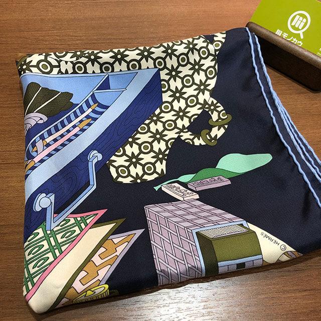 モノカウ心斎橋店にて千林のお客様からエルメスのスカーフを買取_01